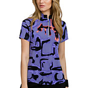 Jamie Sadock Women's Short Sleeve Shadow Golf Top