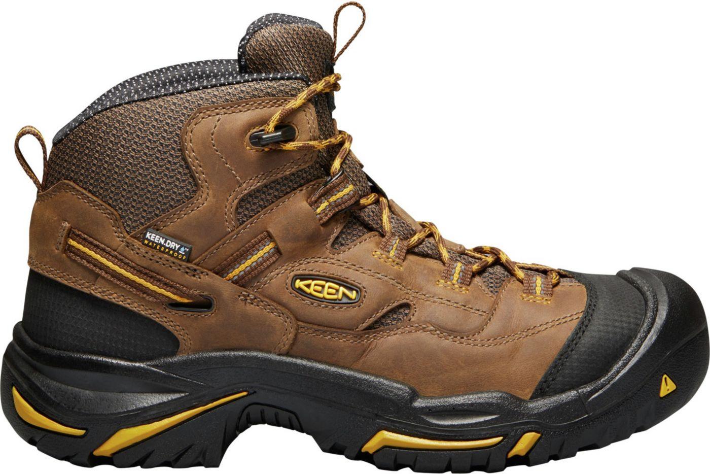 KEEN Men's Braddock Mid Waterproof Work Boots