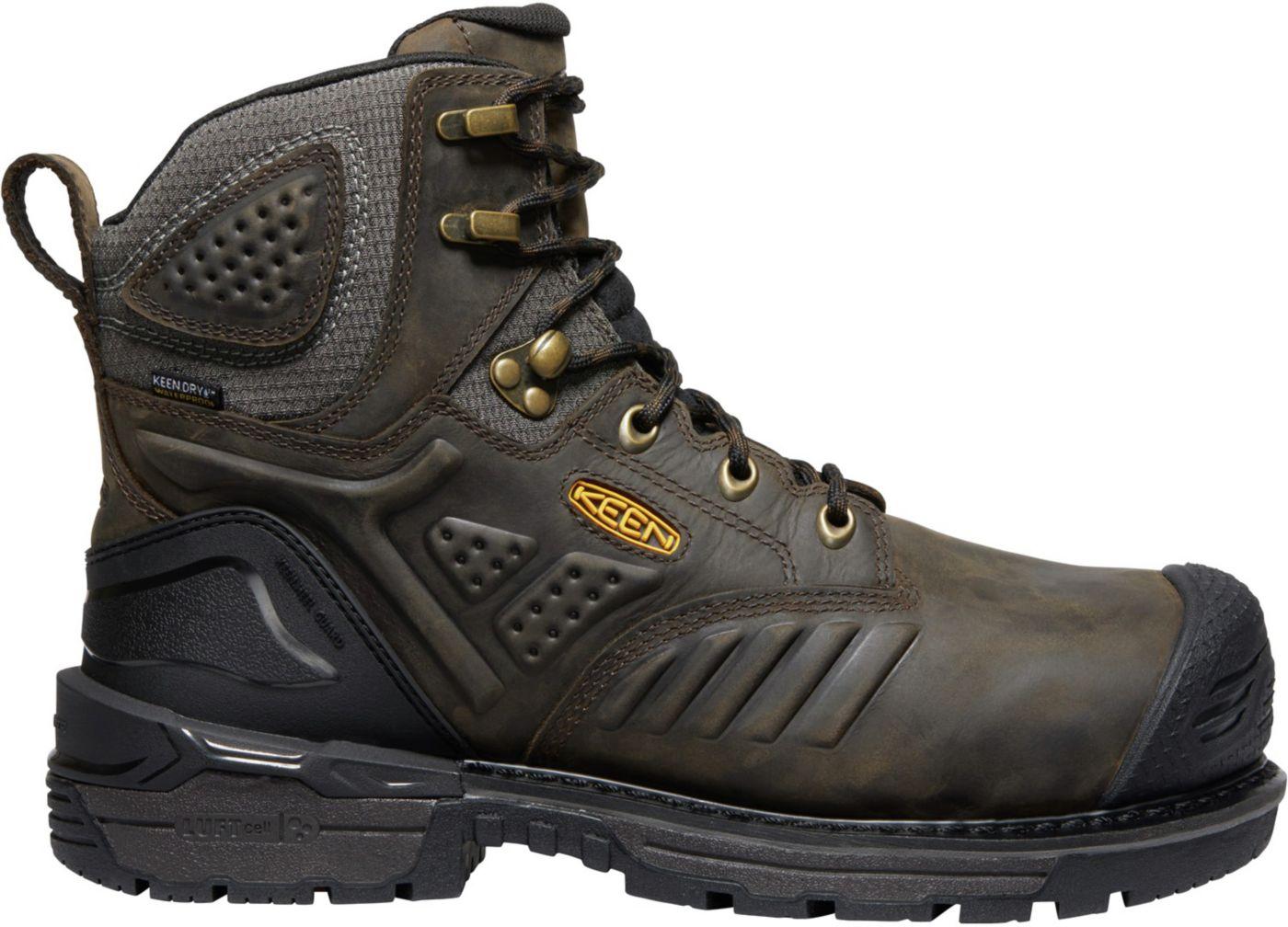 KEEN Men's Philadelphia 6'' Waterproof Composite Toe Work Boots