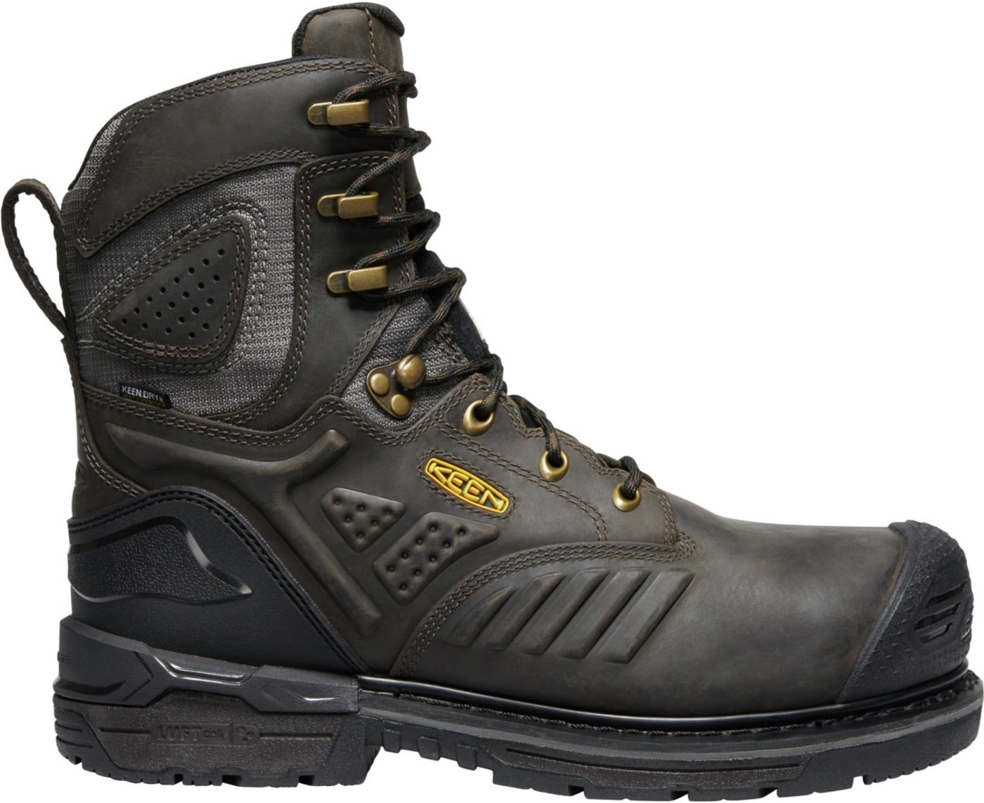 KEEN Men's CSA Philadelphia+ 8'' 600g Waterproof Composite Toe Work Boots