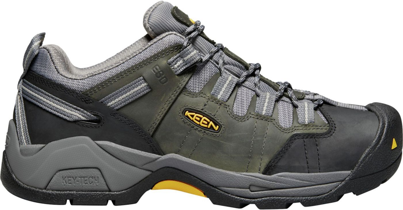 KEEN Men's Detroit XT Waterproof Work Shoes
