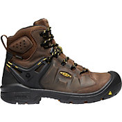 KEEN Men's Dover 6'' Waterproof Steel Toe Work Boots