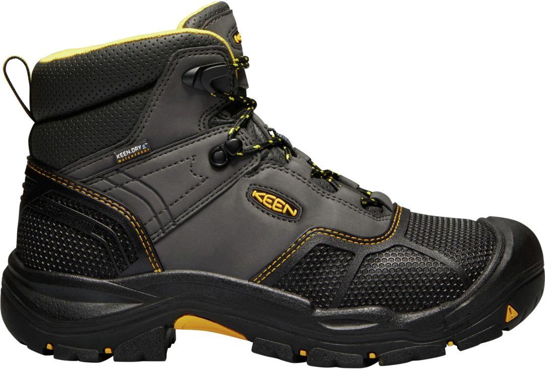 ada088f167d KEEN Men's Logandale Waterproof Work Boots