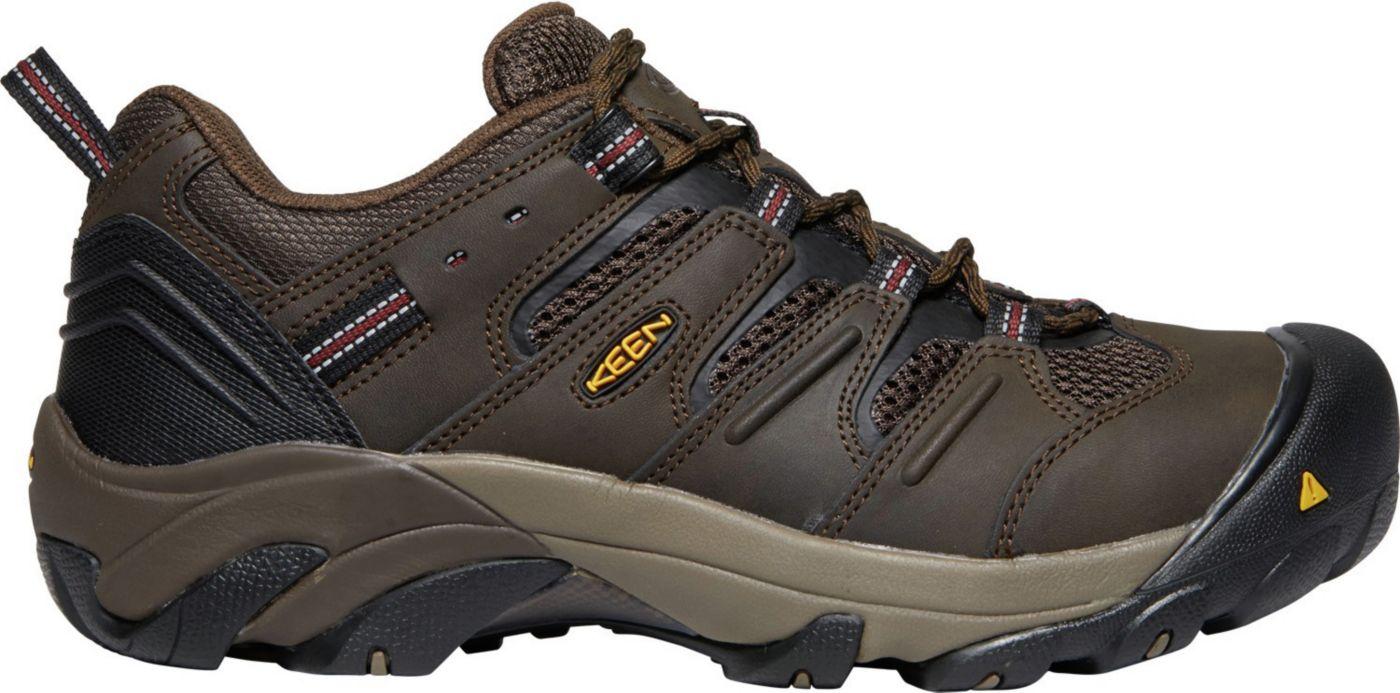 KEEN Men's Lansing Low Work Shoes