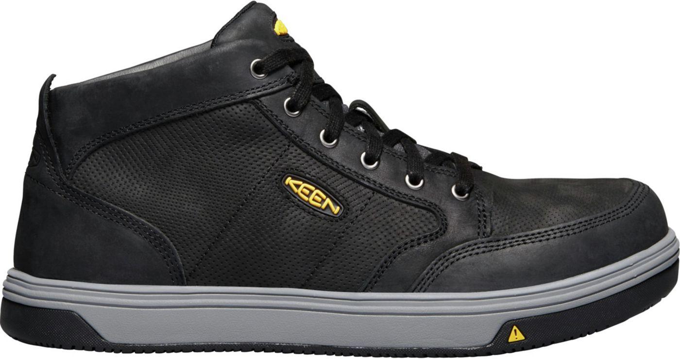 KEEN Men's Redding Mid Waterproof Aluminum Toe Work Shoes