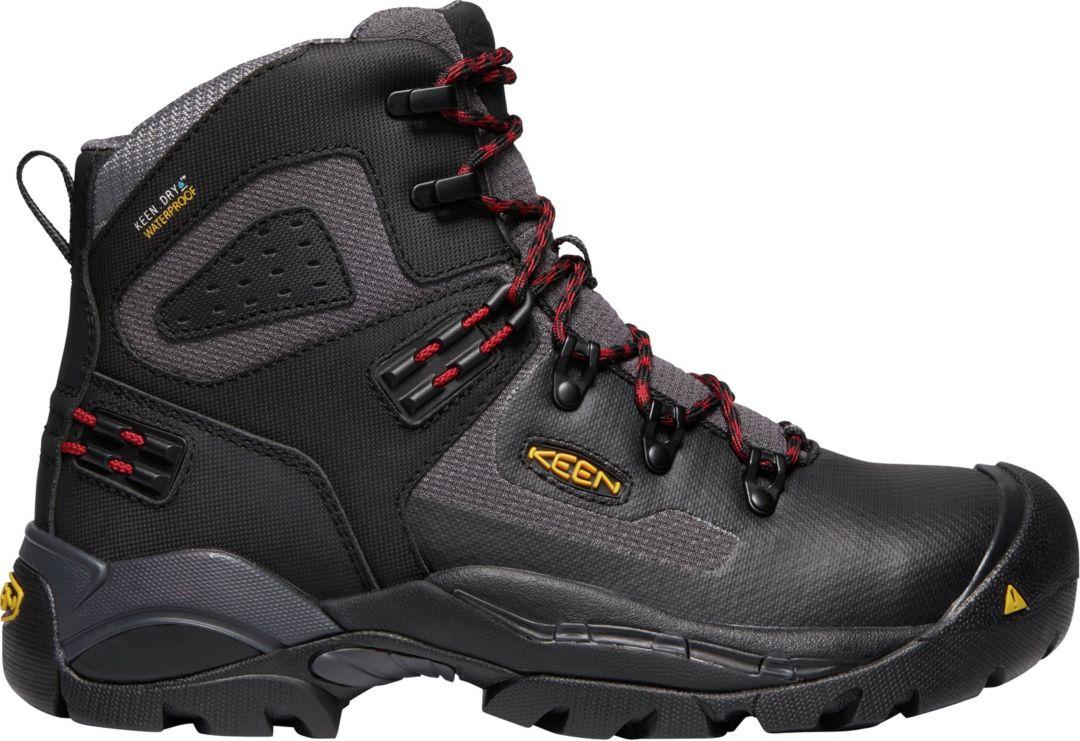 d6ae5109af4 KEEN Men's St. Paul 6'' Waterproof Work Boots