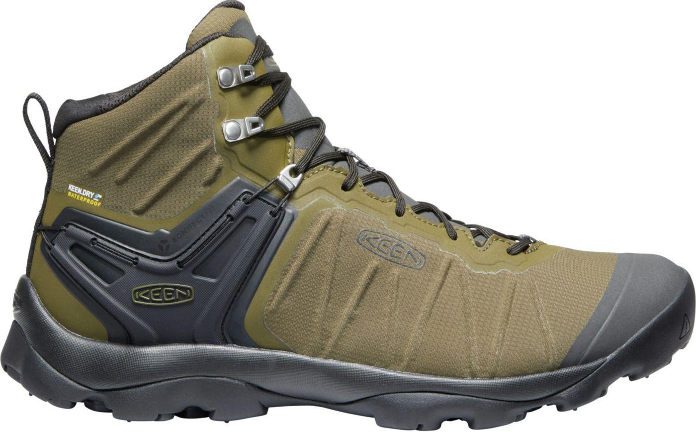 KEEN Men's Venture Mid Waterproof Hiking Boots