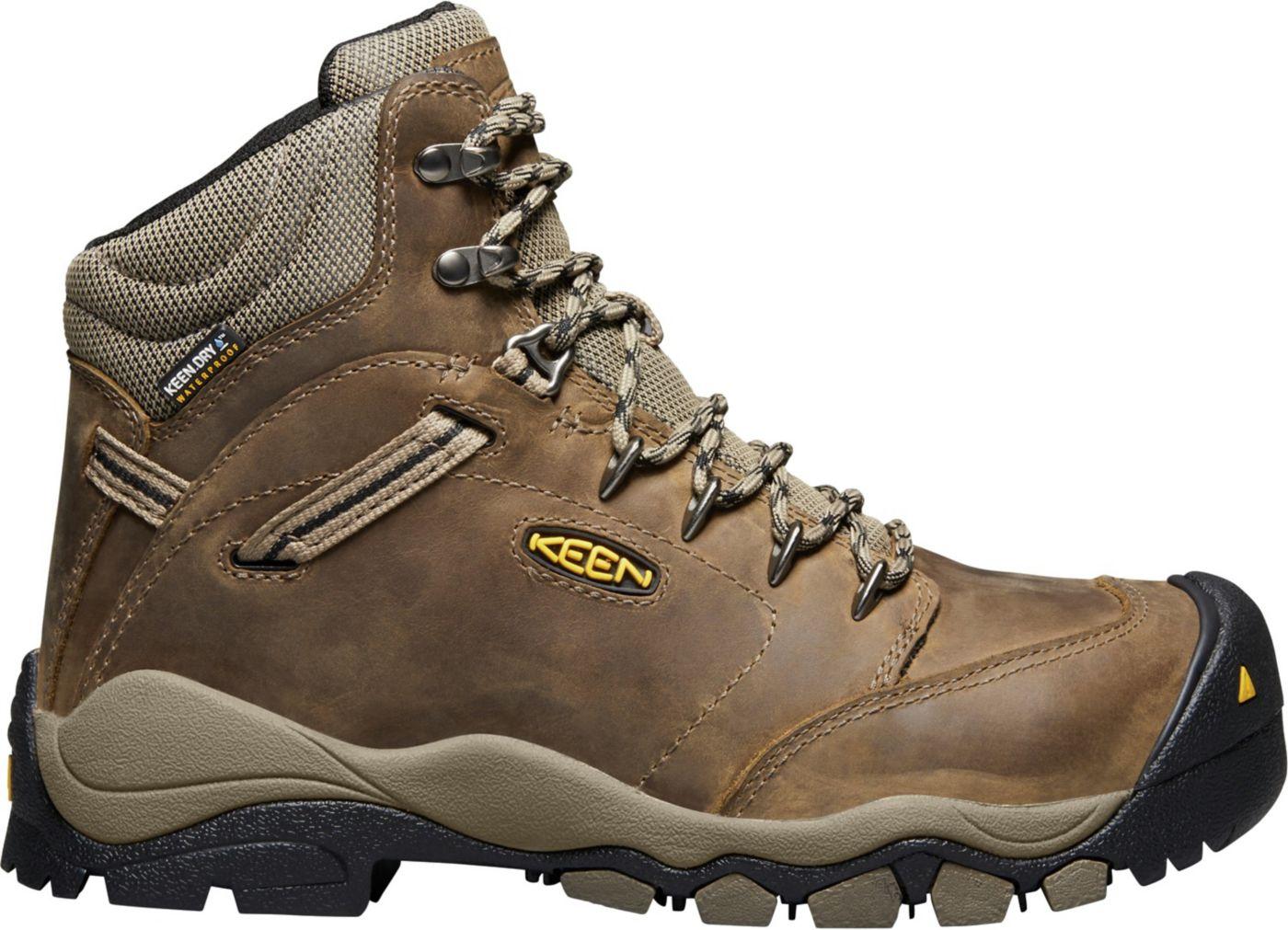 KEEN Women's Canby 6'' Aluminum Toe Waterproof Work Boots