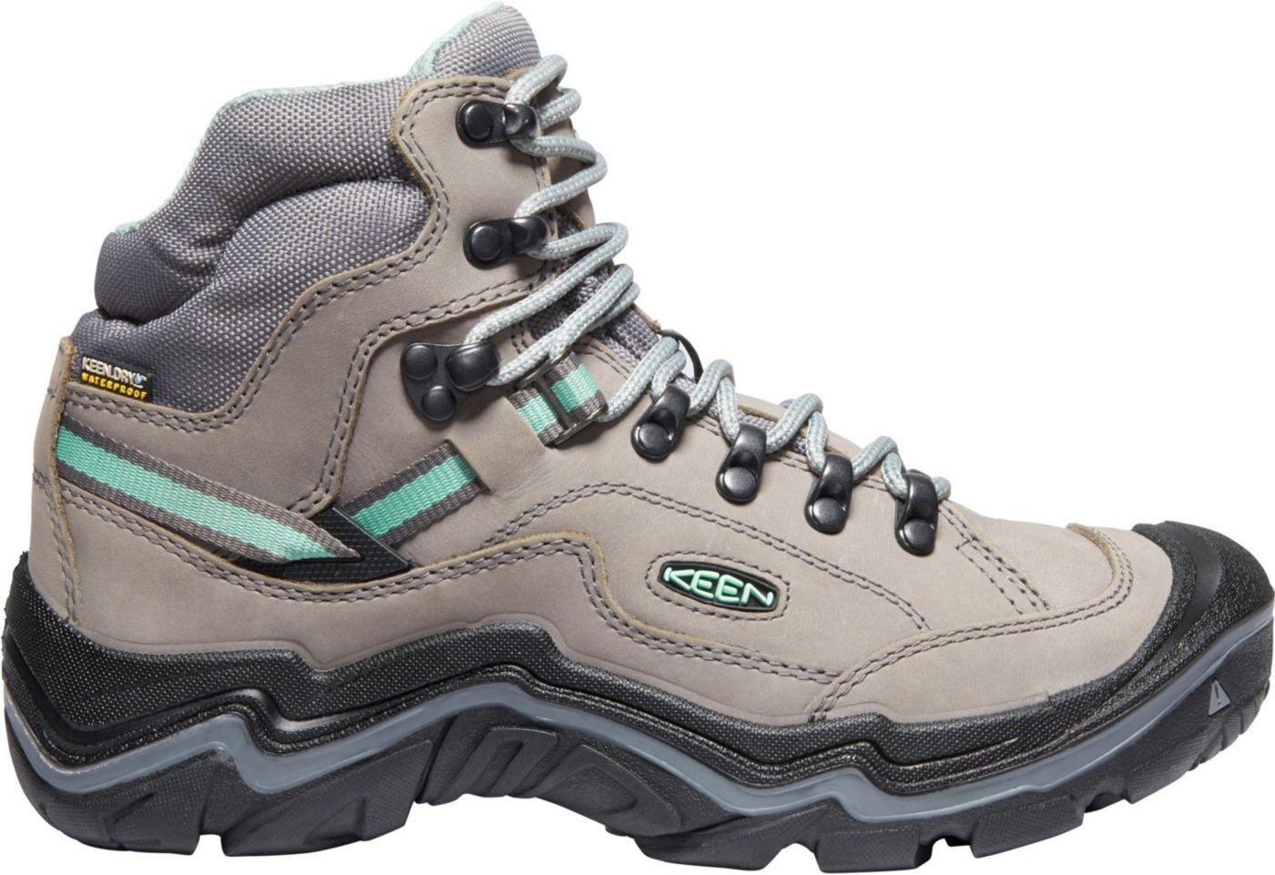 KEEN Women's Durand II Mid Waterproof Hiking Boots