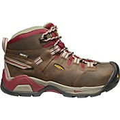 KEEN Women's Detroit XT Mid Waterproof Steel Toe Work Boots