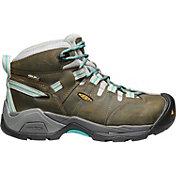 KEEN Women's Detroit XT Mid Waterproof Steel Toe Work Boots