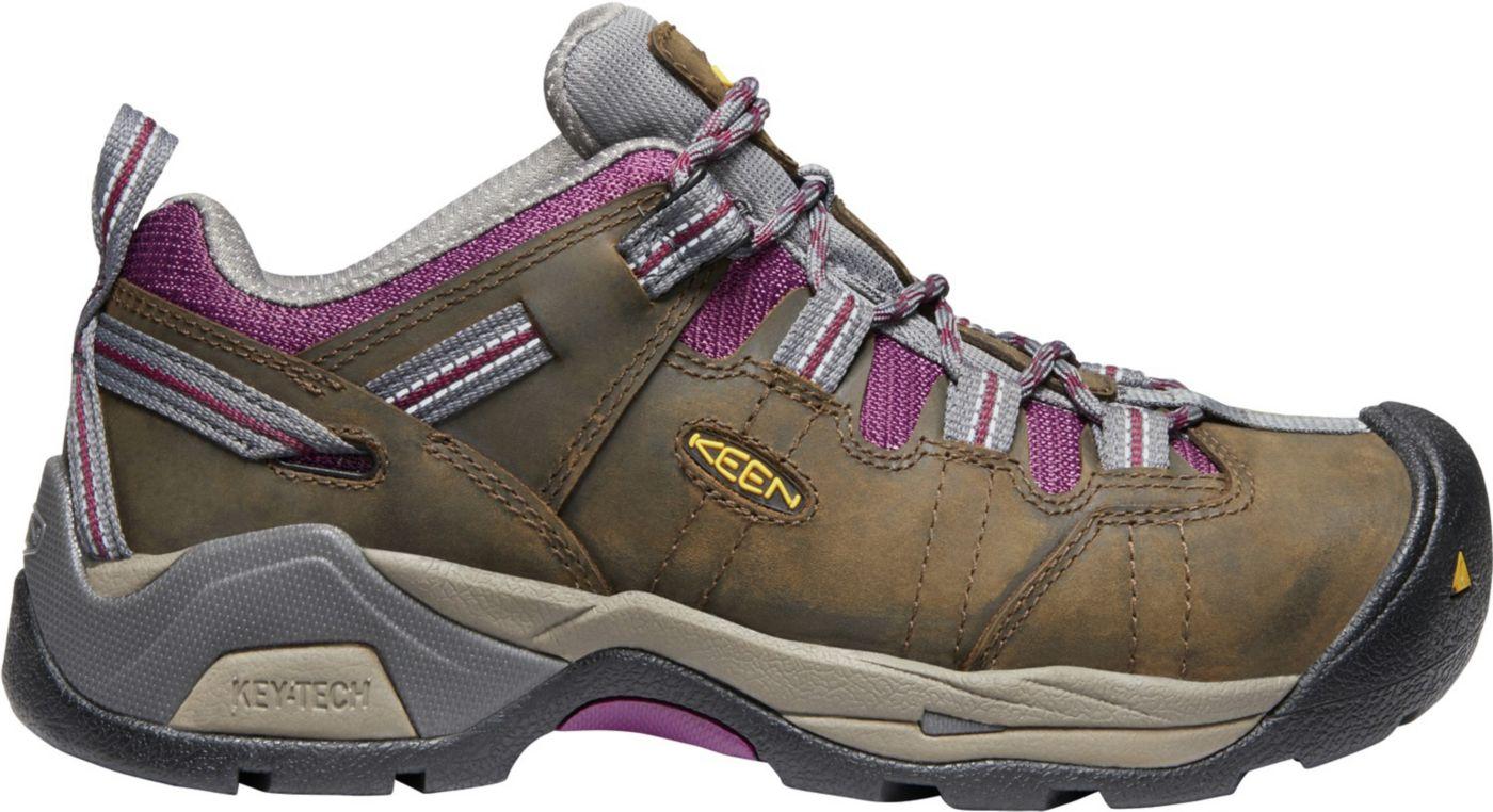 KEEN Women's Detroit XT Waterproof Steel Toe Work Shoes