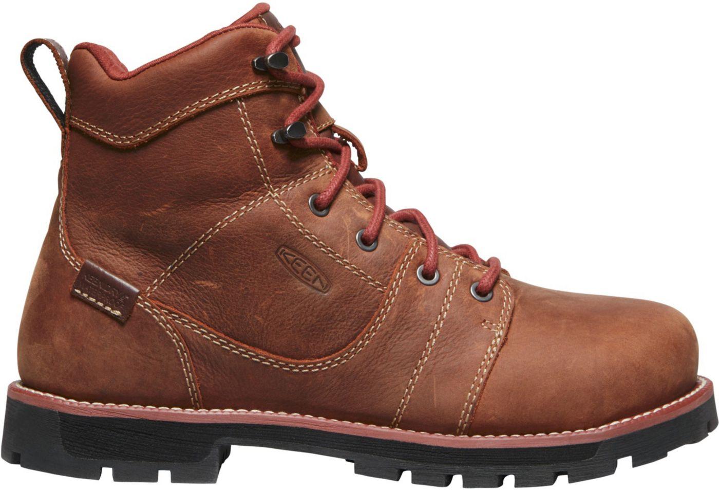 KEEN Women's Seattle 6'' Waterproof Aluminum Toe Work Boots