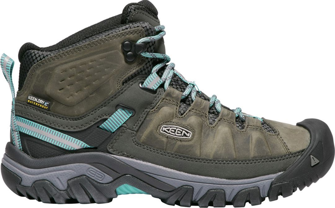 ab0bc46c969 KEEN Women's Targhee III Mid Waterproof Hiking Boots
