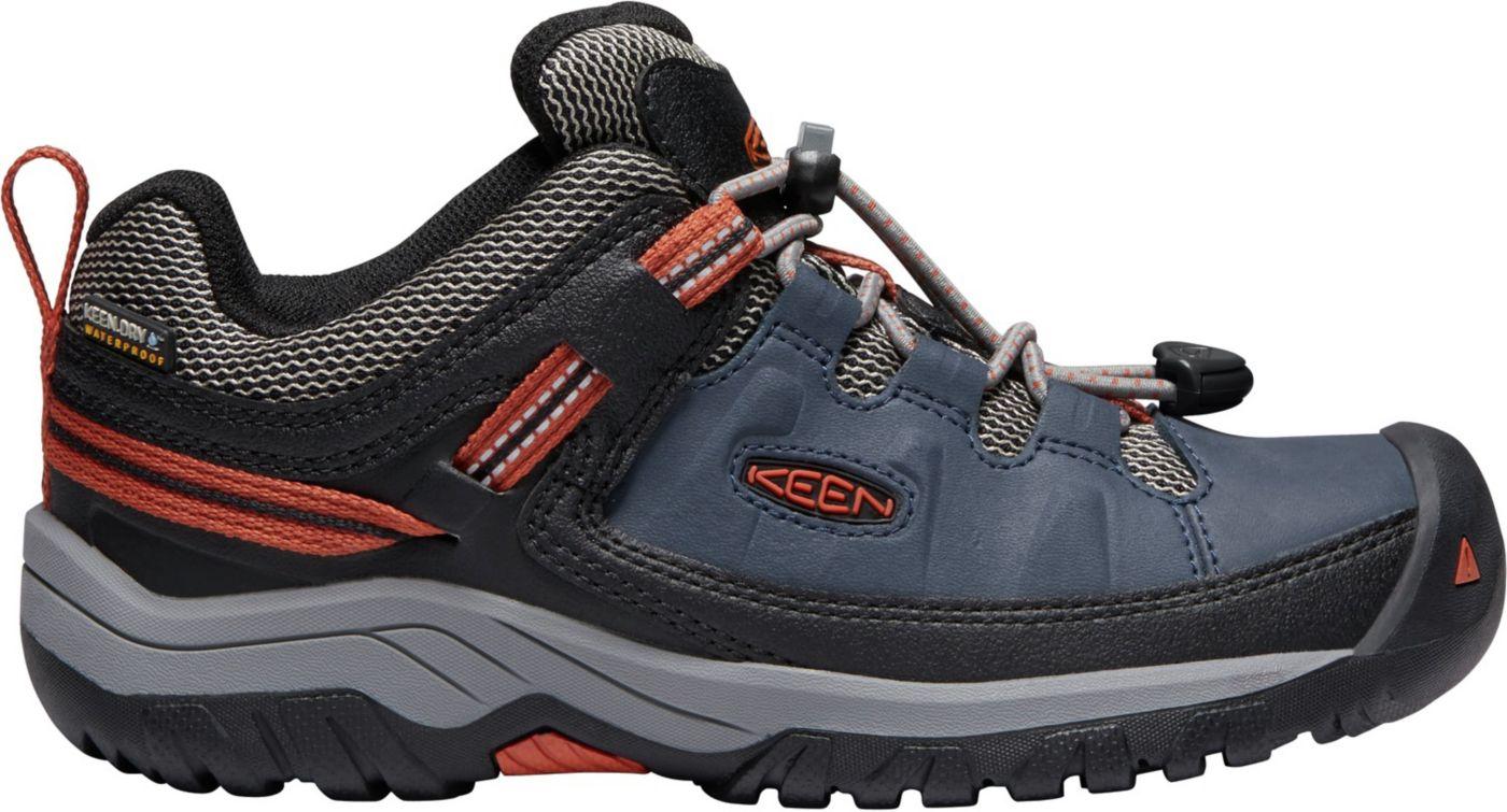 KEEN Kids' Targhee Low Waterproof Hiking Shoes