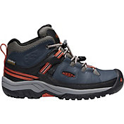 KEEN Kids' Targhee Mid Waterproof Hiking Boots