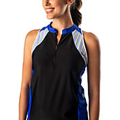 SwingDish Women's Addi Sleeveless Golf Polo