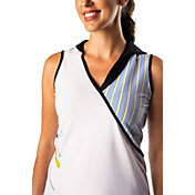 SwingDish Women's Harper Sleeveless Golf Polo