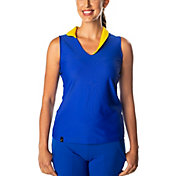 SwingDish Women's Megan Sleeveless Golf Polo