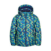 Kamik Boys' Rusty Grid Winter Jacket