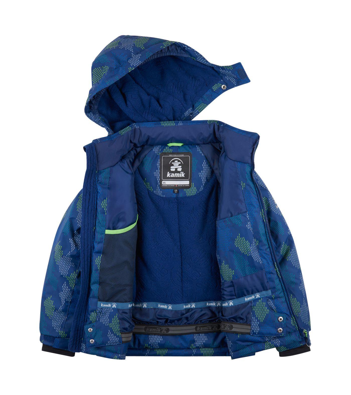 Kamik Boys' Rusty Mischief Insulated Jacket