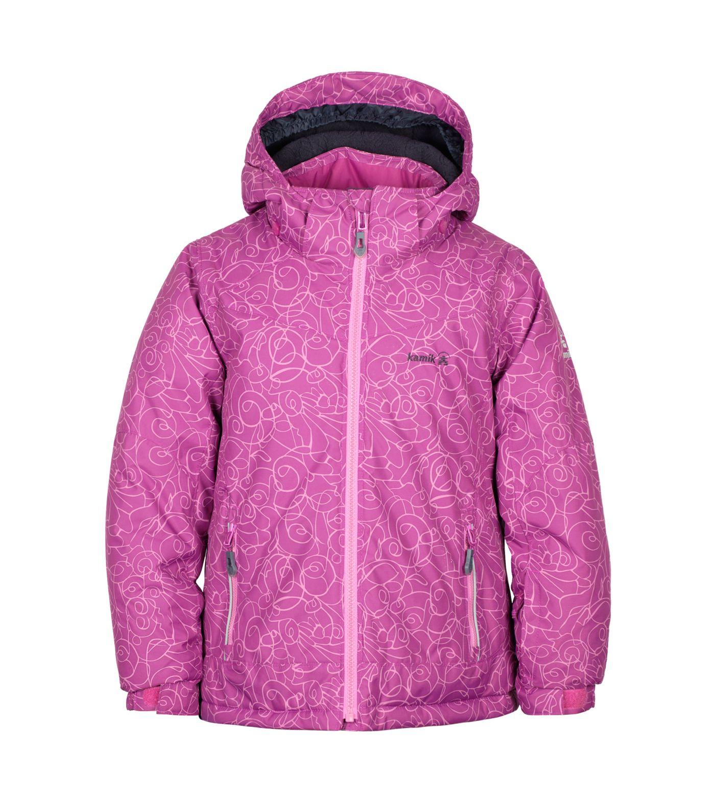 Kamik Girls' Tessie Tip Toe Winter Jacket