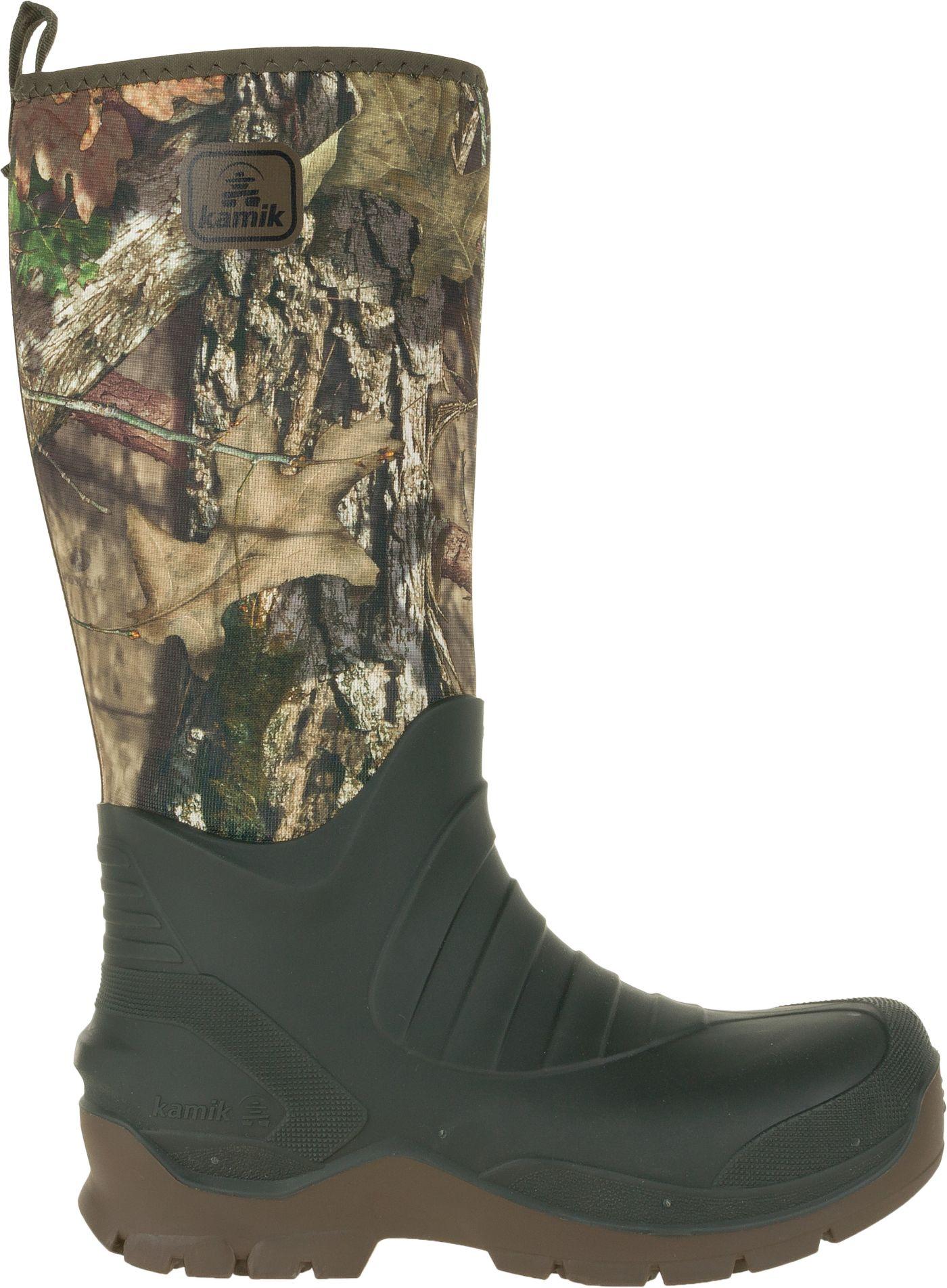 Kamik Men's Bushman V Mossy Oak Rubber Hunting Boots