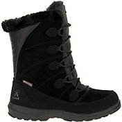 Kamik Women's Icelyn Suede Insulated Waterproof Winter Boots