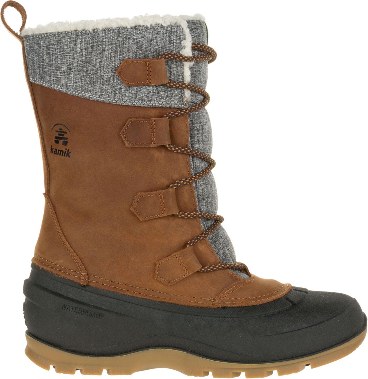 Kamik Women's Snowgem 200g Waterproof Winter Boots