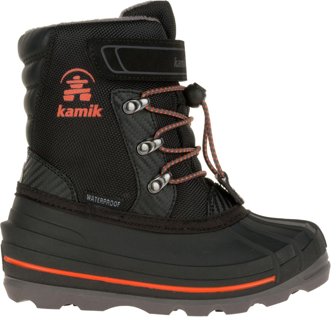 Kamik Kids' Chuck 200g Waterproof Winter Boots