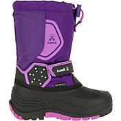 Kamik Kids' Icetrack Insulated Waterproof Winter Boots