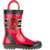 Kamik Kids' Fireman Rain Boots