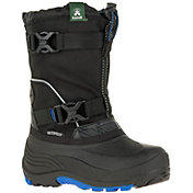 Kamik Kids' Glacial 3 Insulated Waterproof Winter Boots
