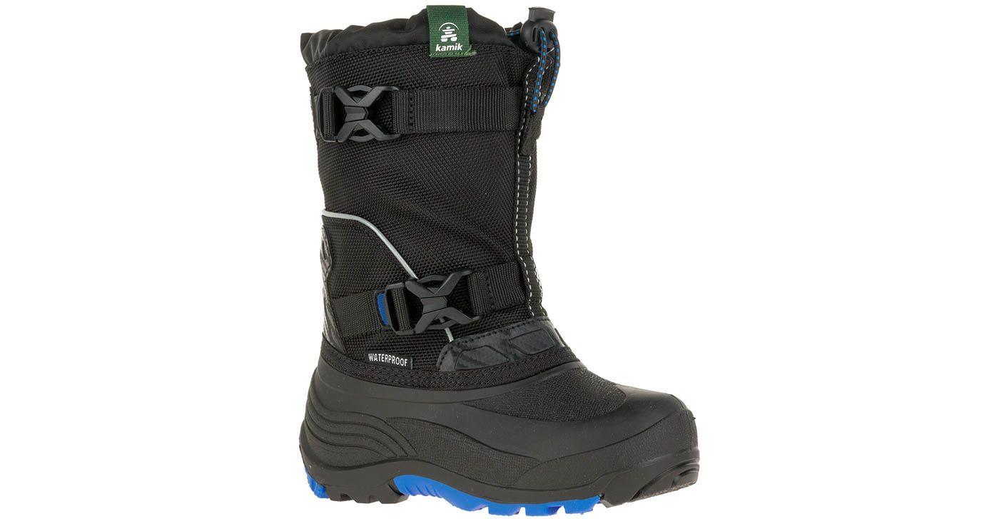 Kamik Kids' Glacial 3 Insulated Waterproof Winter Boots