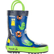 Kamik Kids' Monsters Rain Boots