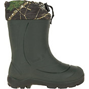 Kamik Kids' Snobuster 2 Mossy Oak Insulated Waterproof Winter Boots