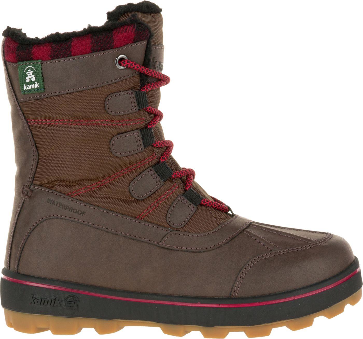 Kamik Kids' Sesame 200g Waterproof Winter Boots