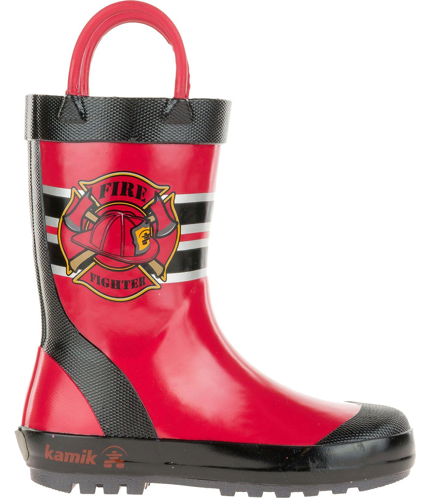 Kamik Toddler Fireman Rain Boots
