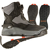 Korkers Men's Darkhorse Wading Boots with Kling-On and Felt Soles