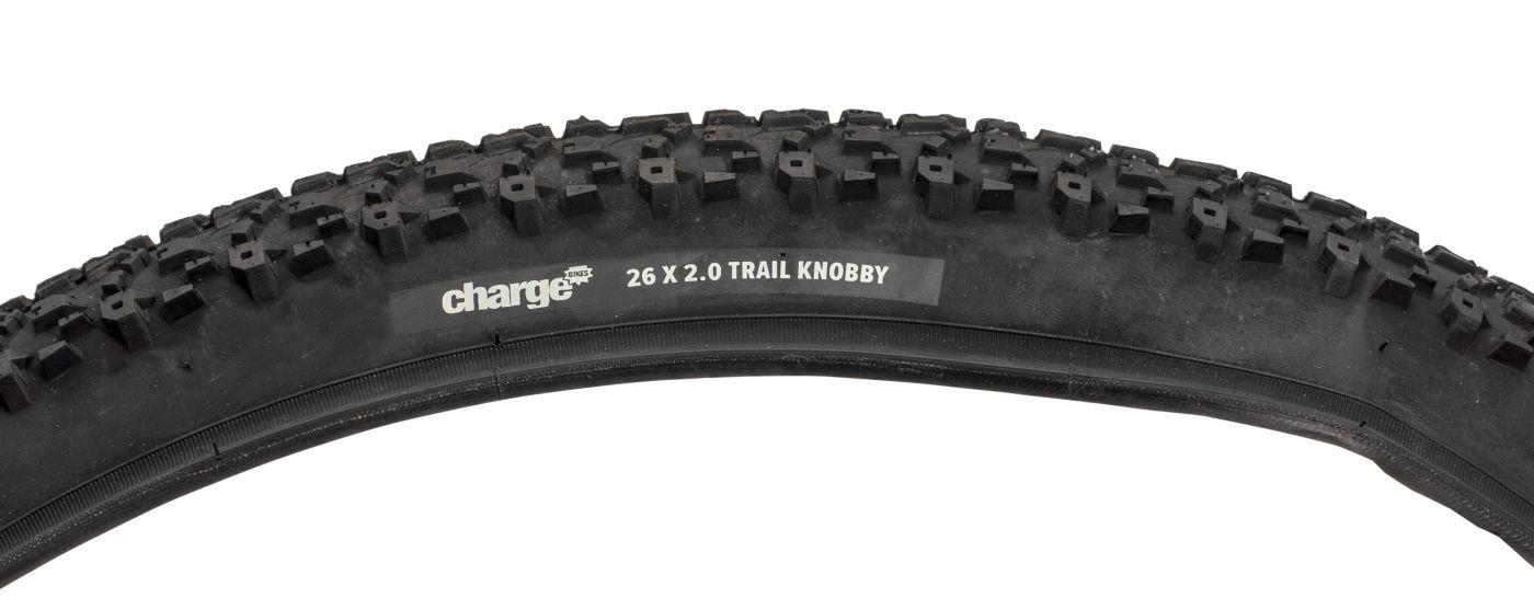 Charge Trail Knobby 26'' x 2.0'' Bike Tire