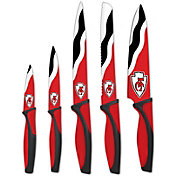 Sports Vault Kansas City Chiefs Kitchen Knives