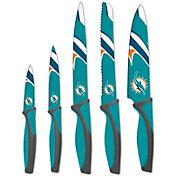 Sports Vault Miami Dolphins Kitchen Knives