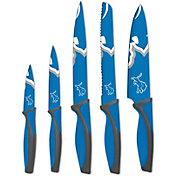 Sports Vault Detroit Lions Kitchen Knives