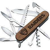 Sports Vault Oakland Raiders Classic Wood Pocket Multi-Tool