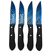 Sports Vault Tennessee Titans Steak Knives