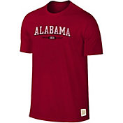 Original Retro Brand Men's Alabama Crimson Tide Crimson Slub T-Shirt