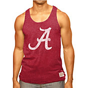 Original Retro Brand Men's Alabama Crimson Tide Crimson Retro Mock Twist Tank Top
