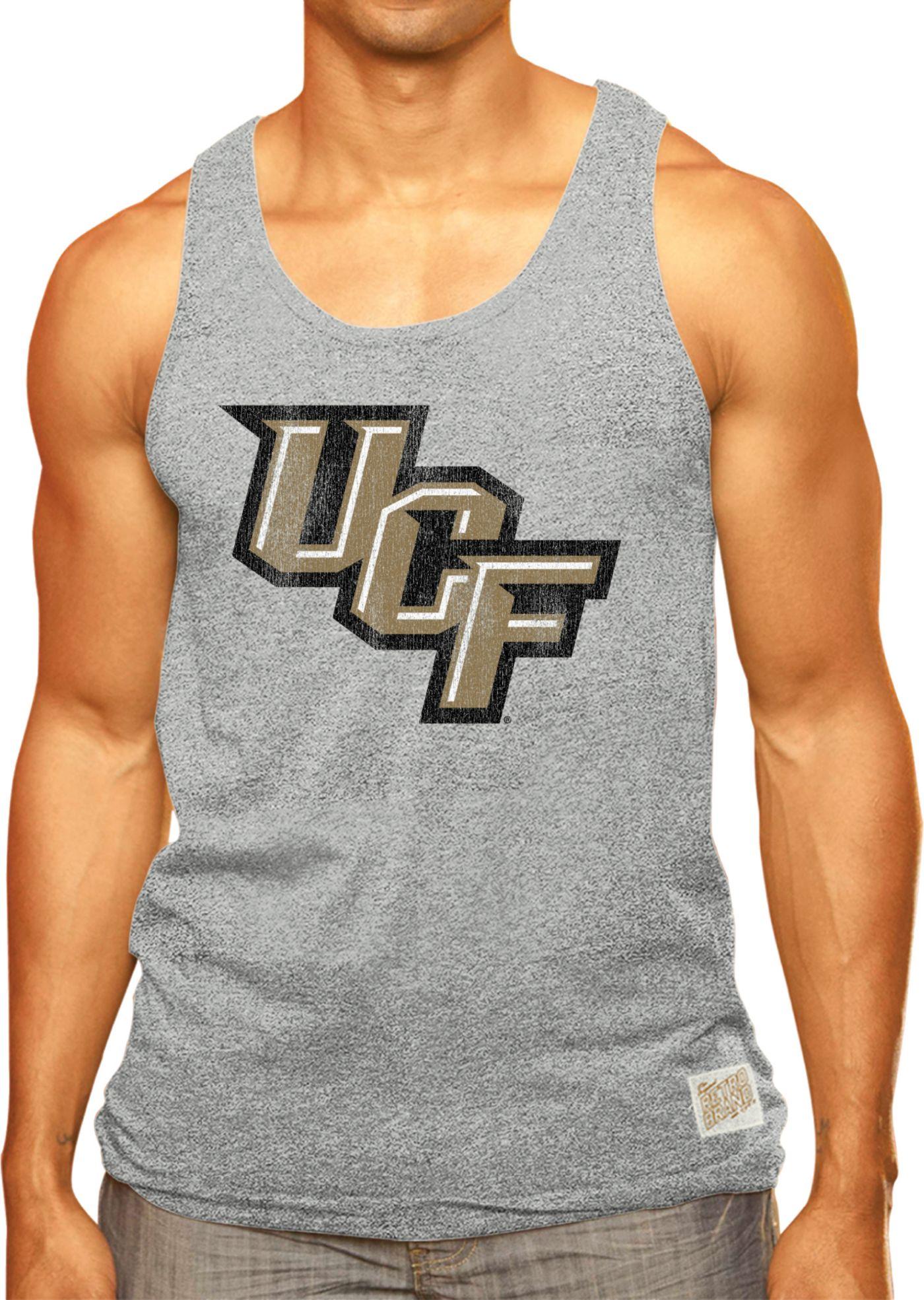 Original Retro Brand Men's UCF Knights Grey Mock Twist Tank Top