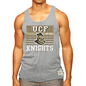 Original Retro Brand Men's UCF Knights Grey Stripe Mock Twist Tank Top