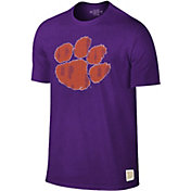 Original Retro Brand Men's Clemson Tigers Regalia Dual Blend T-Shirt